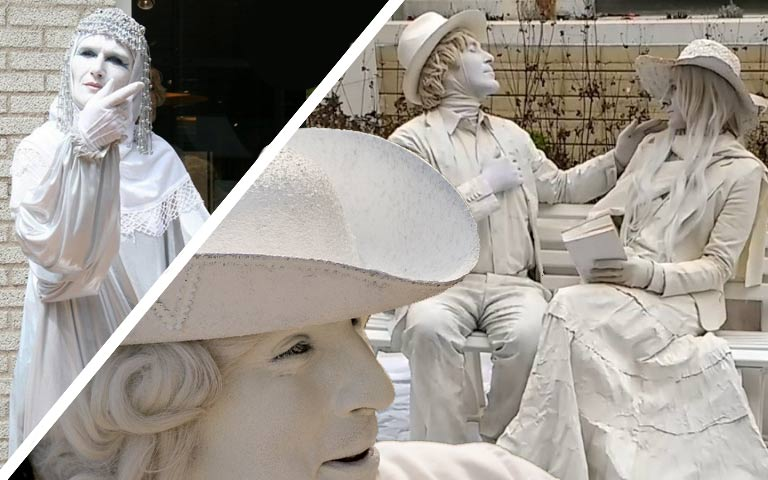 Statue Viventi per Matrimonio